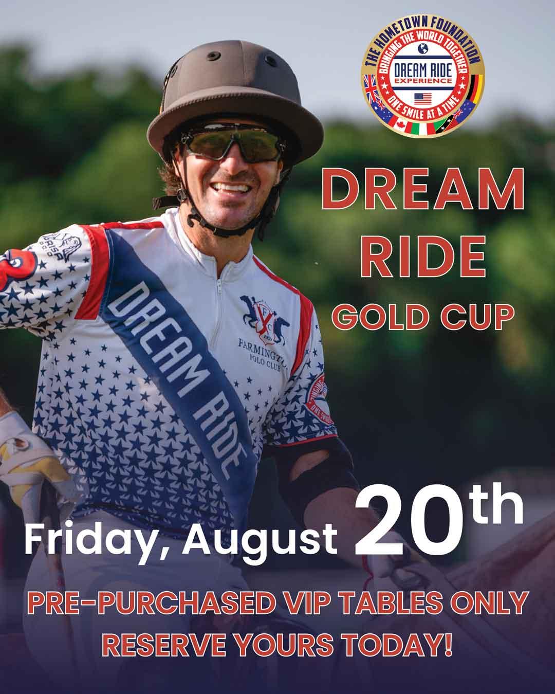Dream Ride Gold Cup